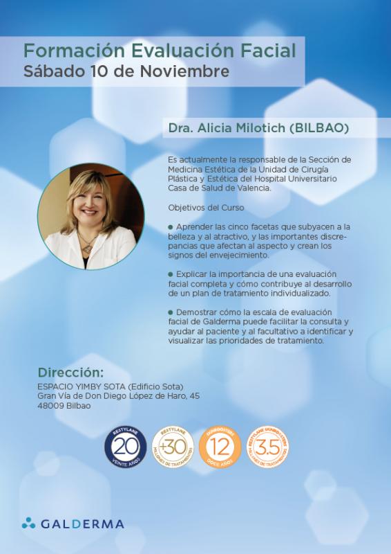 Formación impartida por la Dra. Alicia Milotich en Sevilla