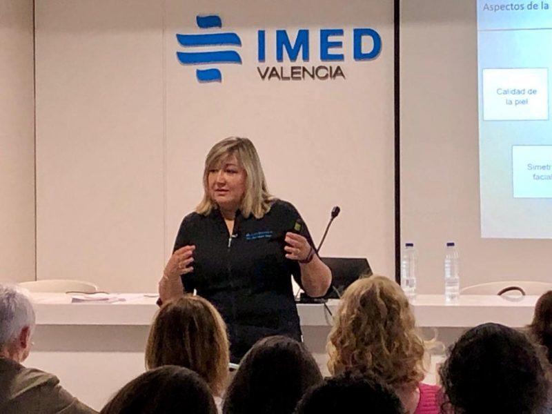 Curso impartido por la Dra. Alicia Milotich en IMED, Valencia