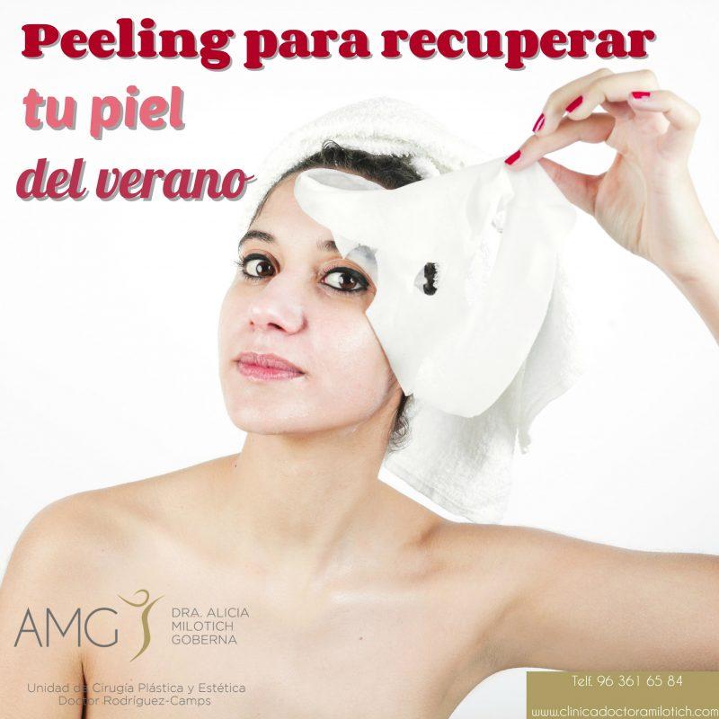 Beneficios de los Peelings Quimicos Valencia