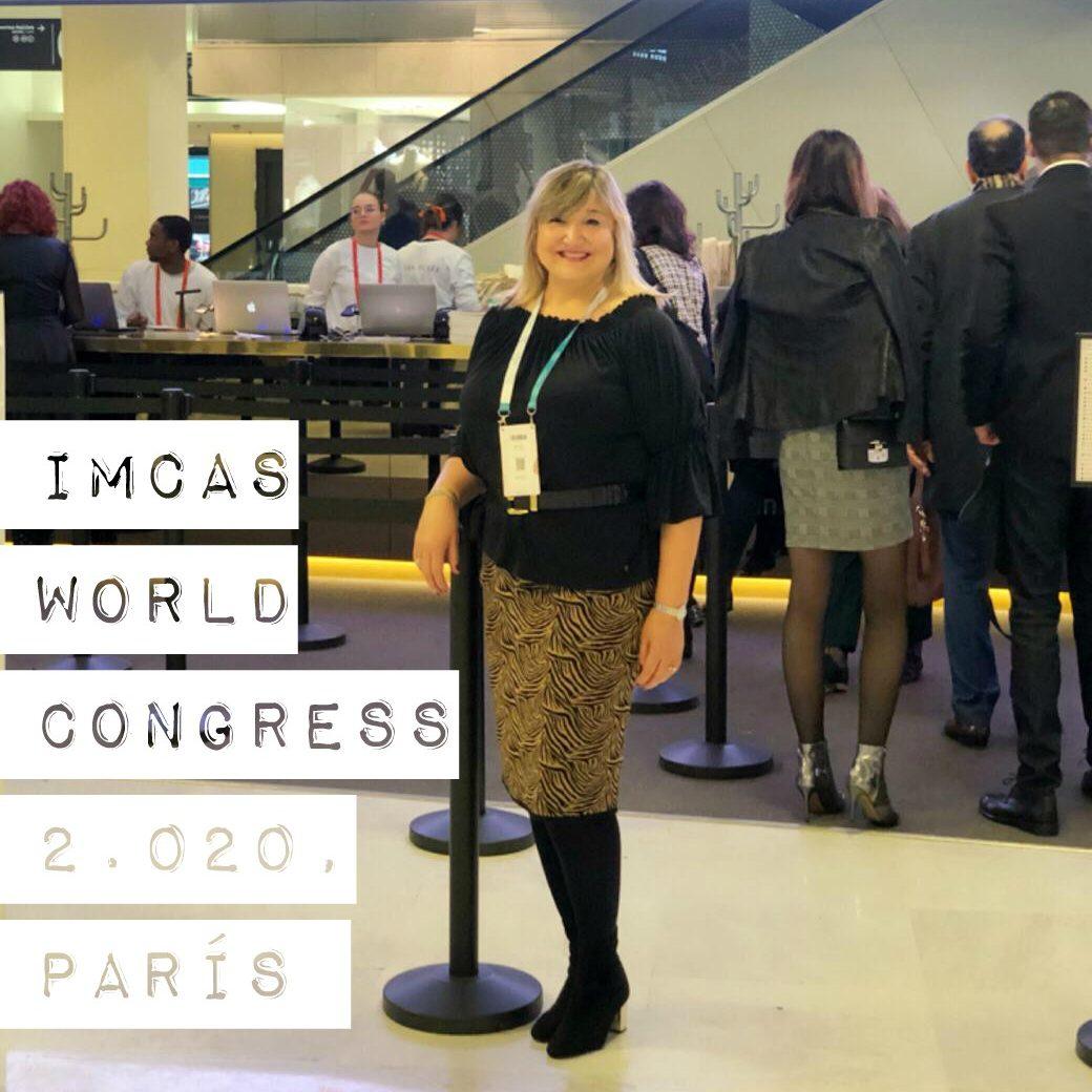 IMCAS World Congress 2.020, 30 Enero – 1 Febrero, París.